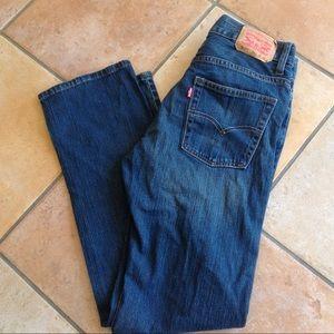 Levis boys Jeans pantssize 20 30x30 medium wash511